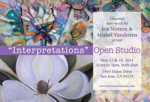 Silicon Valley Artists Share The Beauty And Joy Of Painting During Open Studios